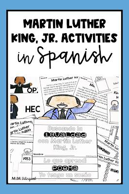 Martin Luther King Jr in SPANSIH