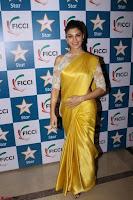 Gorgeous Jacqueline Fernandez  in yellow saree 08.JPG