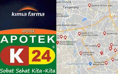 apotek buka 24 jam di daerah Tangerang dan Tangsel