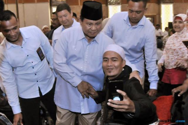 Di Setiap Sholat dan Membaca Qur'an, Penyandang Disabilitas Doakan Prabowo jadi Presiden