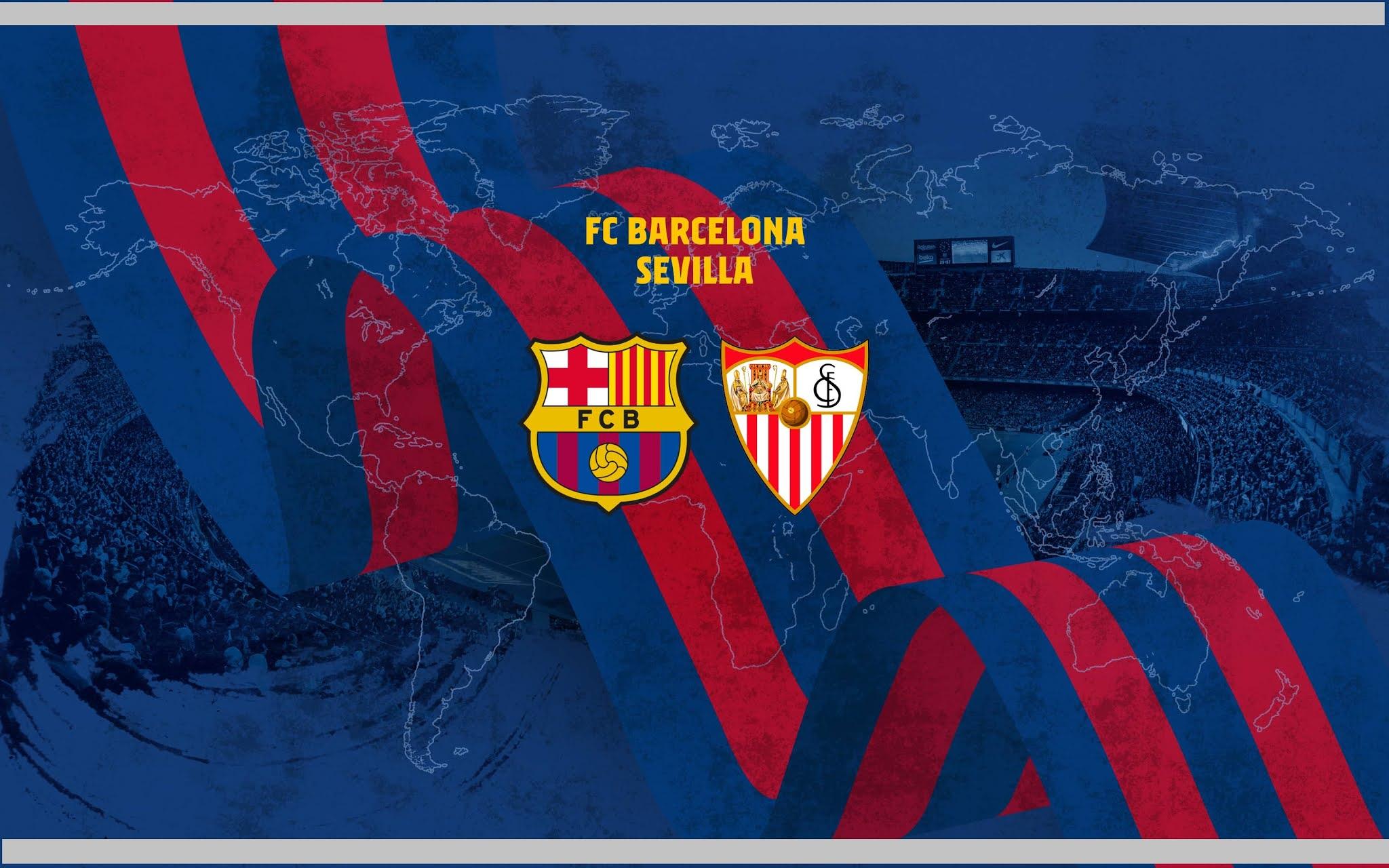 Barcelona Bertekuk Lutut Mengahadapi Sevilla Pada Leg Pertama Dalam Lanjutan Semifinal Copa Del Rey