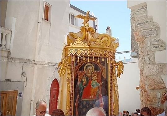 Gli scatti della Madonna della Libera a Rodi Garganico - La Voce Grossa