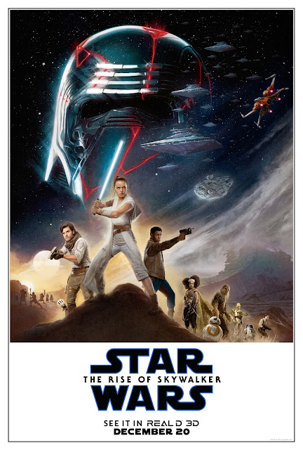 Star Wars The Rise of Skywalker RealD 3D poster
