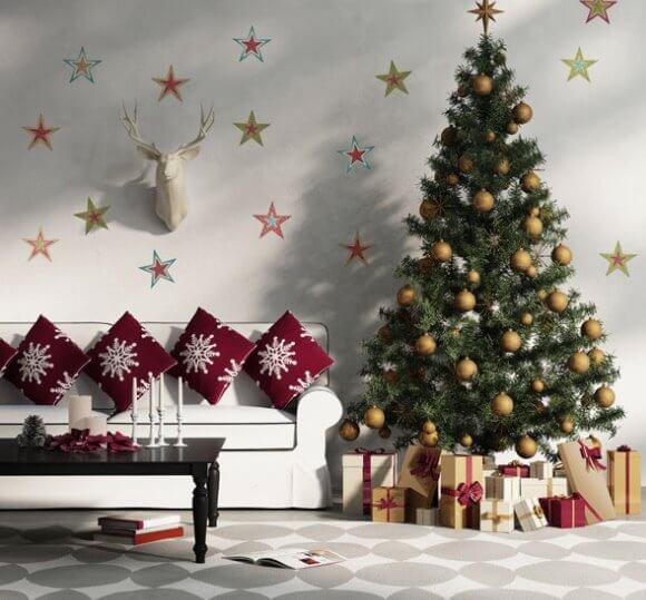 Christmas, Home Decoration,Living Room