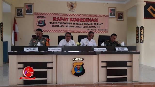 Ops Lilin Polres Tanggamus Turunkan 121 Personil