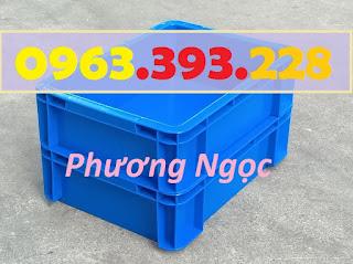 Thùng nhựa đặc B12, hộp nhựa công nghiệp, hộp nhựa B12, sóng nhựa bít