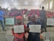 How we made it, say husband, wife who obtained first degrees same time at NOUN