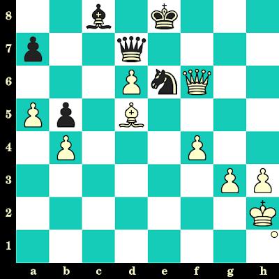 Les Blancs jouent et matent en 2 coups - Tan Zhongyi vs Zhang Xiaowen, Jiangsu Wuxi, 2012
