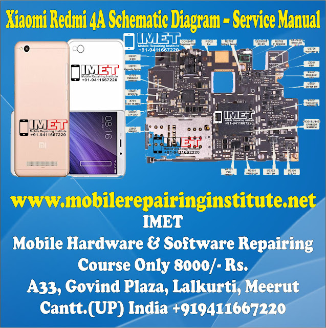 Xiaomi Redmi 4A Schematic Diagram – Service Manual Download