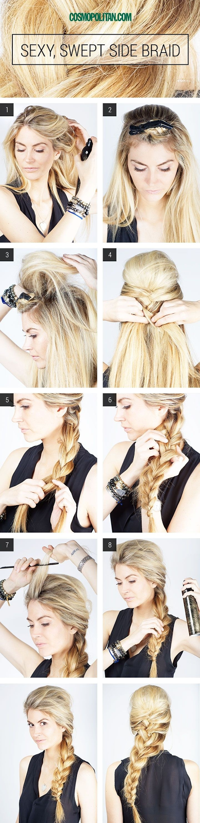 5 French Braids Hairstyles Tutorials