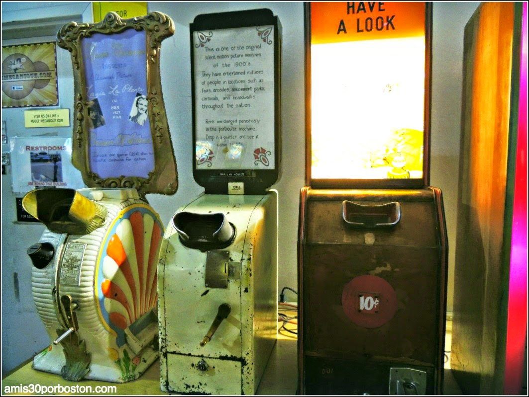Ruta Tecnológica por San Francisco: Musée Mécanique