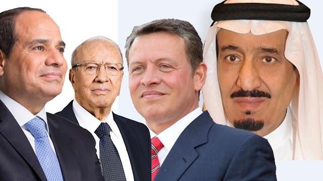أسماء حكام الدول العربية سواء كانت هذه الدول ملكية أو رئاسية