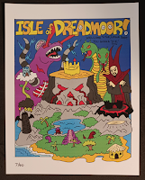 Isle of Dreadmoor Map