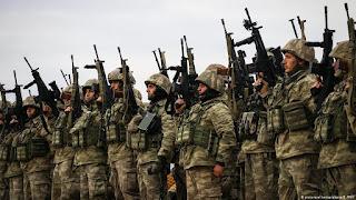 Militer Turki Serang Tentara Rezim Syiah Nushairiyah dan YPG di Aleppo Utara