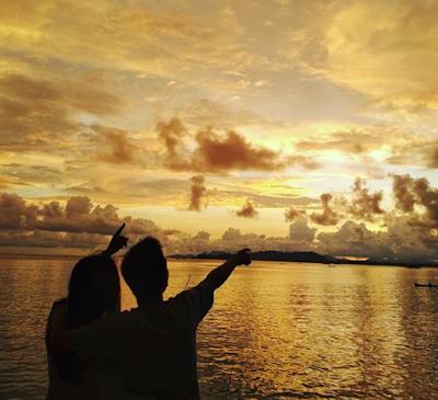 Eksplor Pantai Kuta Mela Serta Menikmati Sunset Yang Romantic