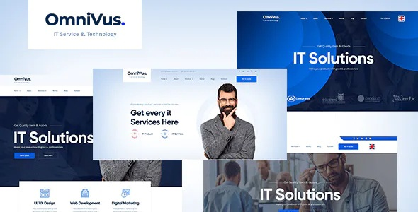 Download IT Solutions & Services WordPress Theme