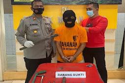 Polisi Tangkap Pencuri Kabel Telkom di Medan yang Beraksi Pukul 3 Pagi