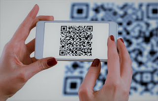 Add a qr scanner code script to your blogger site