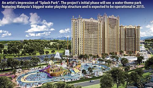 Splash Park in Port Dickson