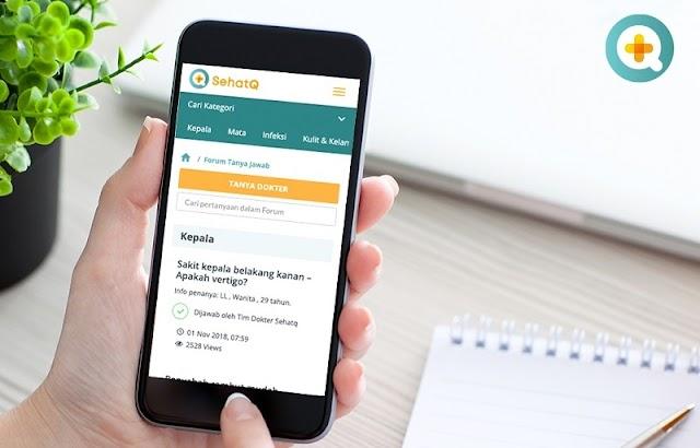 Nikmati Beragam Informasi Dunia Kesehatan di Aplikasi SehatQ.com