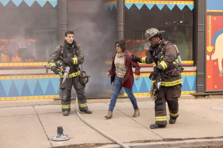 Chicago Fire - Episode 9.12 - Natural Born Firefighter - Promo, Promotional Photos + Press Release