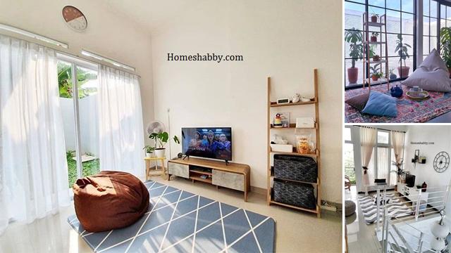 5 Desain Ruang Keluarga Kecil Minimalis Ala Lesehan Yang Super Nyaman Dan Tak Boros Biaya Homeshabby Com Design Home Plans Home Decorating And Interior Design