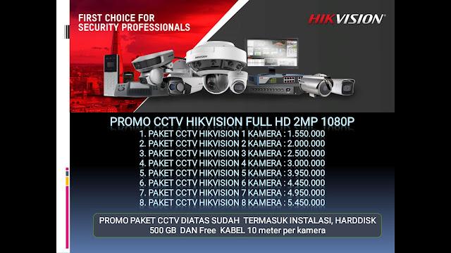 Paket Hemat CCTV HIKVISION