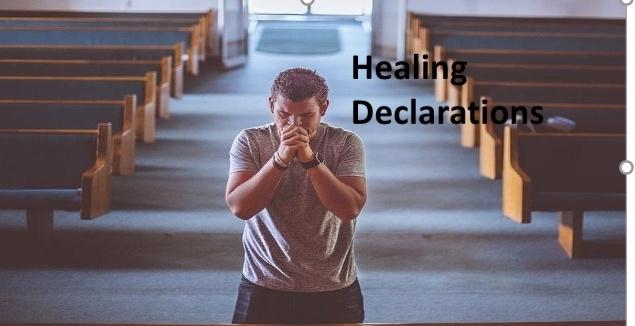 Best healing declarations