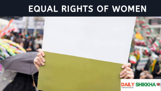 paragraph on the Equal Rights of Women