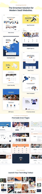 SaaS WordPress Theme