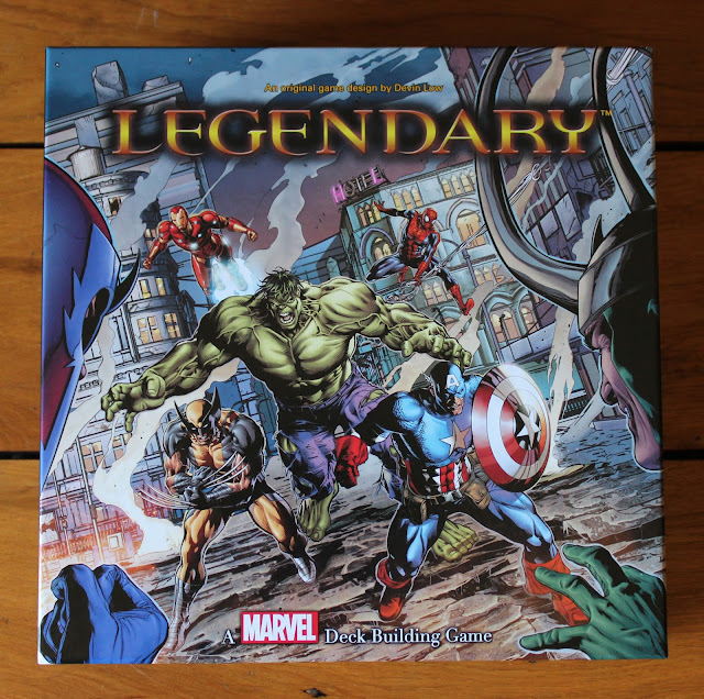 Legendary: A Marvel Deckbuilding Game box art