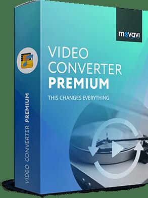 Movavi Video Converter 20.1.2 Premium poster box cover