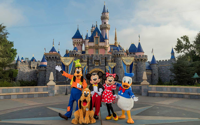 Disney Characters Delight Guests in New Ways as Disneyland Resort Theme Parks Reopen April 30, 2021