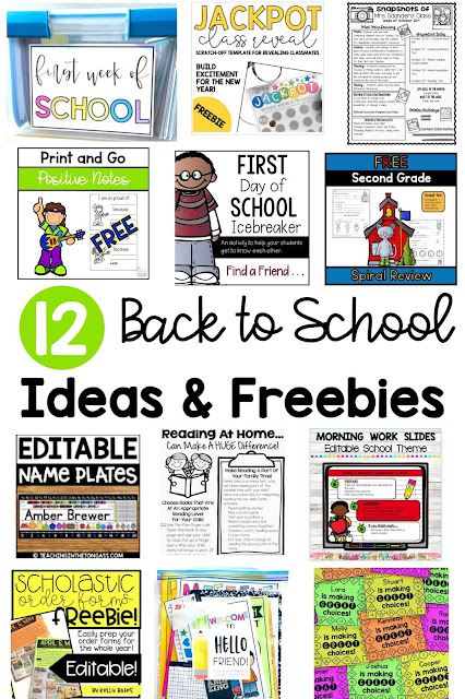 Freebies for Back to School