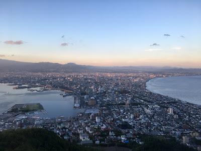 函館の夕景
