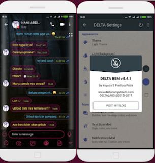 BBM Delta Mod Apk v4 Terbaru Juli