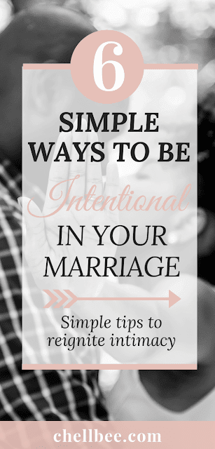 Marriage Advice | Discover 6 simple ways to be more intentional in maintaining a healthy relationship. These tips are perfect for couples looking to reignite their chemistry. Marriage tips | Love and marriage | Biblical marriage | Godly Marriage | Marriage Challenge 30 days #marriage #intimacyinmarriage #christianmarriage