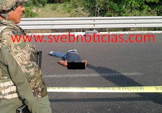 Arrojan un ejecutado en Miahuapan municipio de Tihuatlán Veracruz