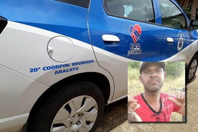 Homem morre a tiros após discussão em bar na zona rural de Aracatu