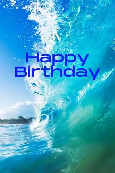 Happy Birthday Images Beach DOWNLOAD (For 2020)