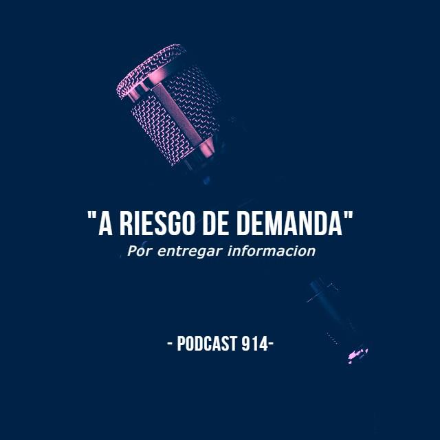 """""""A riesgo de demanda"""" ▶️ Podcast 914"""