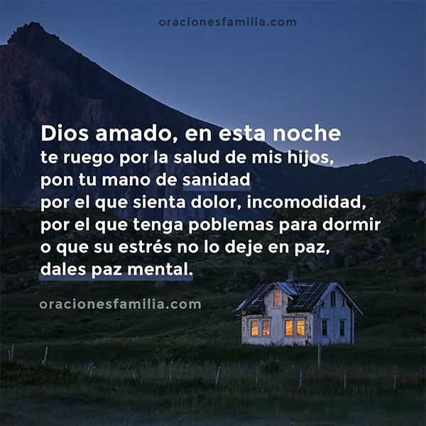 oracion por sanidad y buenas noches para mis hijos, frases cristianas con imagen por mery bracho