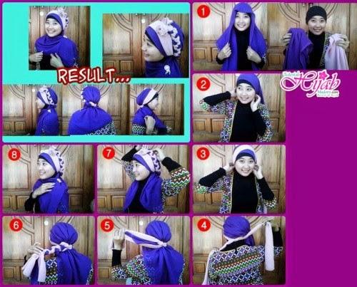 Tips Hijab Wisuda dan Pesta Simple Terbaru