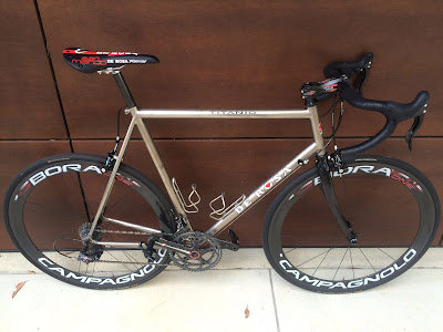Titanium roadbike australia, made in italy