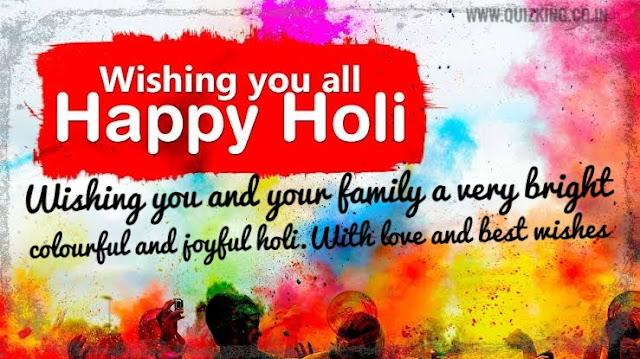 HAPPY HOLI WISHING IMAGES 2020 , happy holi quotes 2020