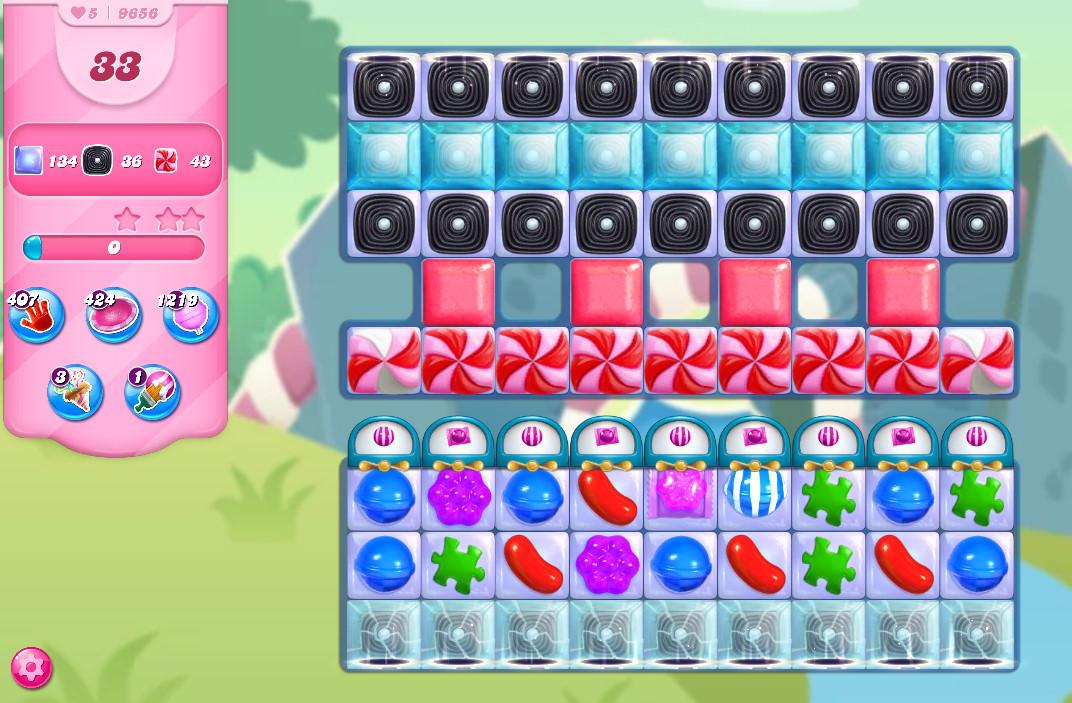 Candy Crush Saga level 9656