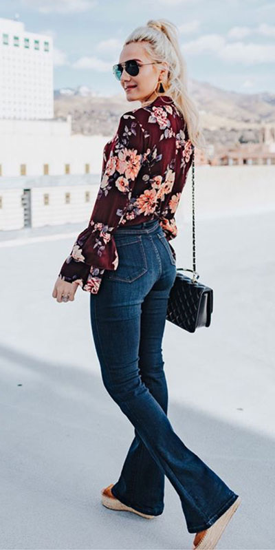 27 Adorable Fall Date Night Outfits Guaranteed to Impress. 27 Stylish Fall Outfits to Wear On Your Next Date, from Casual to Fancy. Fall Fashion via higiggle.com | Floral Top | #falloutfits #dateoutfits #datenight #floral