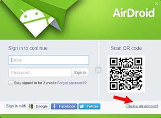 Cara Remote android dari PC via AirDroid