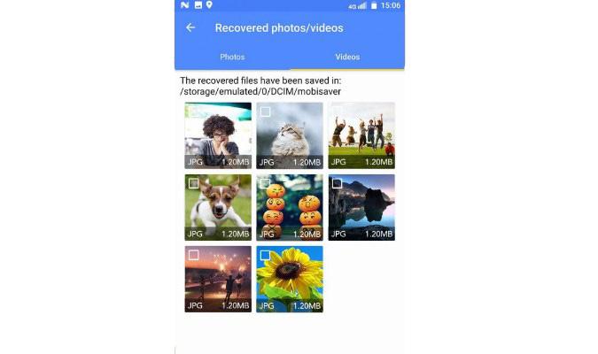 Cara Kembalikan Foto dan Video Terhapus - MobiSaver