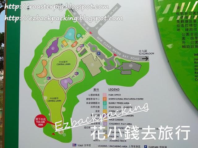 佐敦谷公園地圖